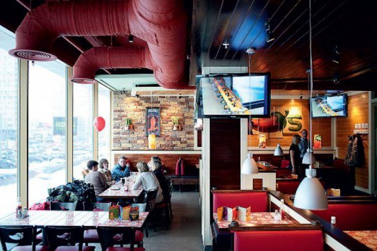 Ресторан Чили'з в Москве или Chili's in Moscow