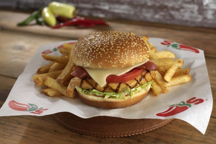 Дизайн и производство пищевой бумаги для бургеровдля Chili's
