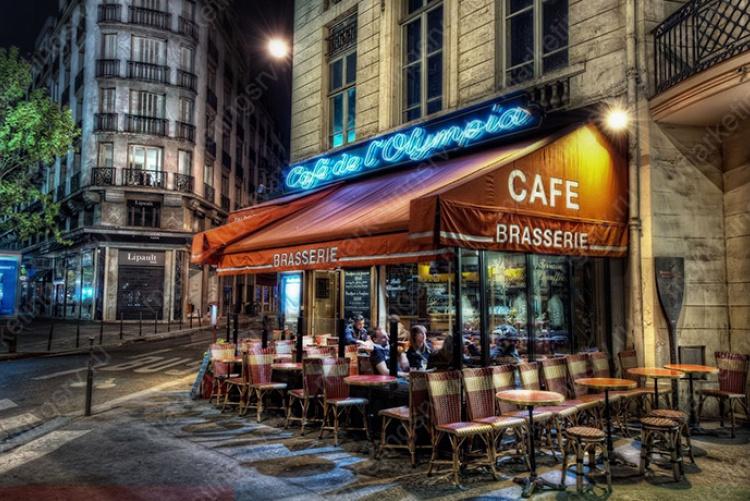 Кафе в городе, кафе на окраине, кафе на трассе