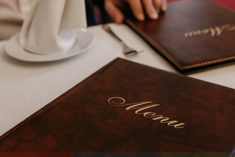 Как составить меню ресторану или кафе