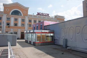 Торговый павильон на Савеловском вокзале, дизайн, 3D визуализация