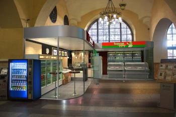 Торговые павильоны на Ленинградском вокзале